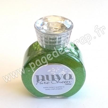 TONIC STUDIOS NUVO PURE SHEEN GLITTER 100ml GREEN MEADOW