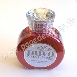 TONIC STUDIOS NUVO PURE SHEEN GLITTER 100ml SCARLET RED