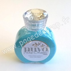 TONIC STUDIOS NUVO PURE SHEEN GLITTER 100ml AQUA