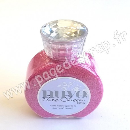 TONIC STUDIOS NUVO PURE SHEEN GLITTER 100ml CANDY PINK