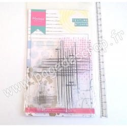 MARIANNE DESIGN TAMPON CLEAR DOODLE STRIPES