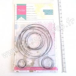 MARIANNE DESIGN TAMPON CLEAR DOODLE CIRCLES