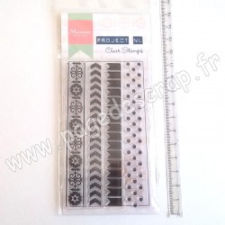 MARIANNE DESIGN TAMPON CLEAR BORDER DOTS