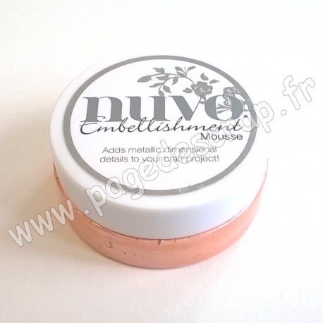 TONIC STUDIOS NUVO EMBELLISHMENT MOUSSE CORAL CALYPSO