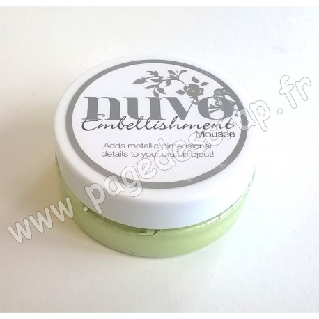 TONIC STUDIOS NUVO EMBELLISHMENT MOUSSE SPRING GREEN