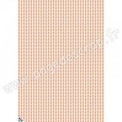 KESI'ART GRAND PAPIER IMPRIMÉ 48 cm x 68 cm CORONADO