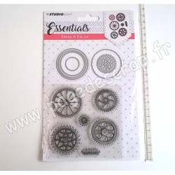 STUDIO LIGHT STAMP & DIE CUT ESSENTIALS N° 15
