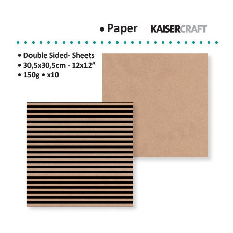 KAISER CRAFT MIX ET MATCH PRINSTRIPE