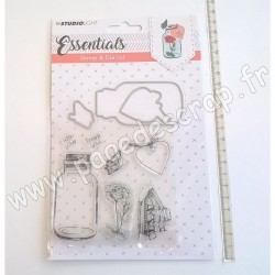 STUDIO LIGHT STAMP & DIE CUT ESSENTIALS N° 13