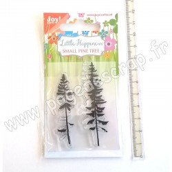 JOY!CRAFTS TAMPON CLEAR SMALL PINE TREE