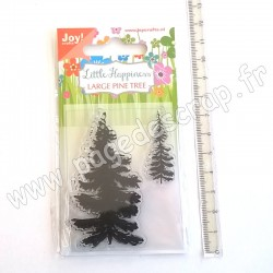 JOY!CRAFTS TAMPON CLEAR LARGE PINE TREE