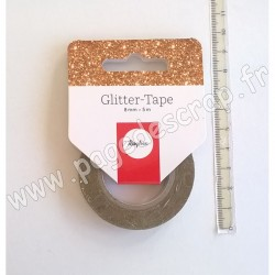 RAYHER GLITTER TAPE OR 8 mm x 5 m