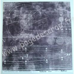 CONHILOS COLLECTION GALAXIA LUNA 30.5 cm x 30.5 cm