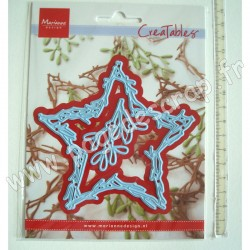 MARIANNE DESIGN CREATABLES NATURE STAR