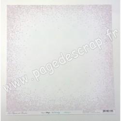 LES PAPIERS DE PANDORE THIS IS MAGIC CIEL DE NEIGE 30.5 cm x 30.5 cm