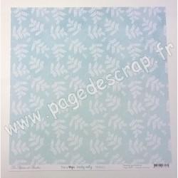 LES PAPIERS DE PANDORE THIS IS MAGIC FEUILLES MORTES 30.5 cm x 30.5 cm