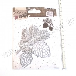 STUDIO LIGHT EMBOSSING DIE WINTER DAYS N°110