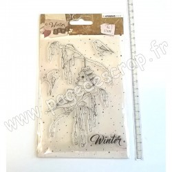 STUDIO LIGHT CLEAR STAMP WINTER DAYS N°310