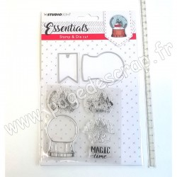 STUDIO LIGHT STAMP & DIE CUT ESSENTIALS N° 18