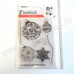 STUDIO LIGHT CLEAR STAMP ESSENTIALS N°322