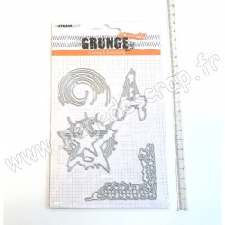 STUDIO LIGHT CUTTING & EMBOSSING GRUNGE N°151