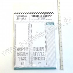 FLORILEGES DESIGN OUTILS DE DÉCOUPE HAPPY THINGS