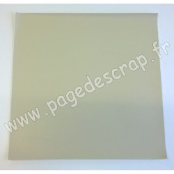 ARTEMIO FEUILLE SIMILI CUIR 30 cm x 30 cm 0,7 mm JAPAN BEIGE
