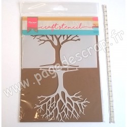 MARIANNE DESIGN STENCIL MASK TREE