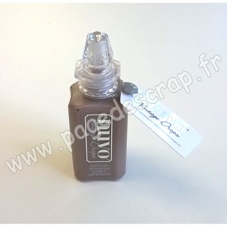TONIC STUDIOS NUVO VINTAGE DROPS 30 ml GLOSS CHOCOLATE CHIP
