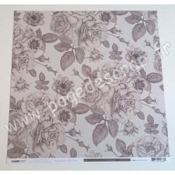 KAISERCRAFT ROSABELLA COLLECTION SOMBRE BOTANIC 30.5 cm x 30.5 cm