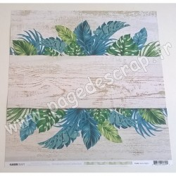 KAISERCRAFT PARADISE FOUND COLLECTION BALMY NIGHTS 30.5 cm x 30.5 cm