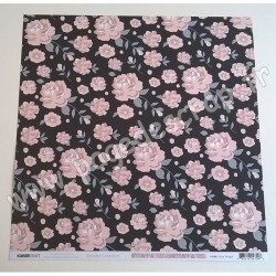 KAISERCRAFT BREATHE COLLECTION FLORAL TWILIGHT 30.5 cm x 30.5 cm