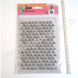 STUDIO LIGHT CLEAR STAMP CREATE HAPPINESS N°348
