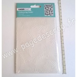 KAISERCRAFT EMBOSSING FOLDER FERN LEAF 150 mm x 106 mm