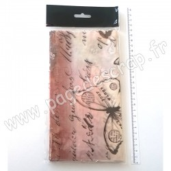 PRIMA MARKETING - FINNABAIR TISSUE PAPER FLUTTER 6 feuilles 50 cm x 70 cm