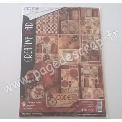 CIAO BELLA CODEX LEONARDO 9 imprimés R/V A4 190g