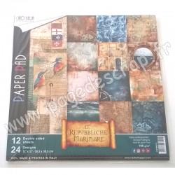 CIAO BELLA LE REPUBBLICHE MARINARE 12 imprimés R/V 30.5 cm x 30.5 cm 190g