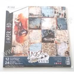 CIAO BELLA JAZZ CLUB 12 imprimés R/V 30.5 cm x 30.5 cm 190g