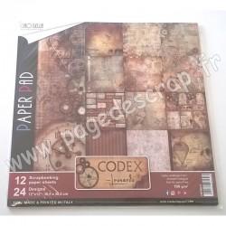 CIAO BELLA CODEX LEONARDO 12 imprimés R/V 30.5 cm x 30.5 cm 190g