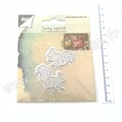 JOY!CRAFTS CUTTING & EMBOSSING DIES FUNNY SQUIRREL