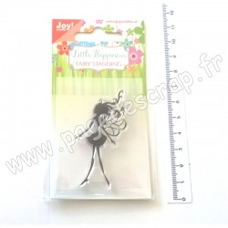 JOY!CRAFTS TAMPON CLEAR LITTLE HAPPINESS FAIRY STANDING