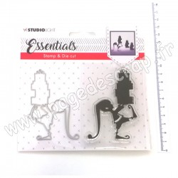 STUDIO LIGHT STAMP & DIE CUT ESSENTIALS CHRISTMAS N 34