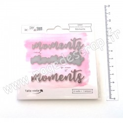 DIY & Cie DIES ET TAMPON MOMENTS