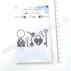 MARIE LN GEFFRAY DIES COLLECTION PORTE BONHEUR CLEFS