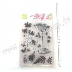 MARIANNE DESIGN TAMPON CLEAR COLORFUL SILHOUETTE BOTANICAL