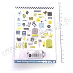 FLORILEGES DESIGN  DIE CUTS YELLOW