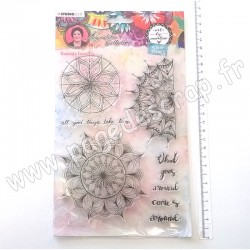 STUDIO LIGHT CLEAR STAMP ART BY MARLENE 5.0 N.48