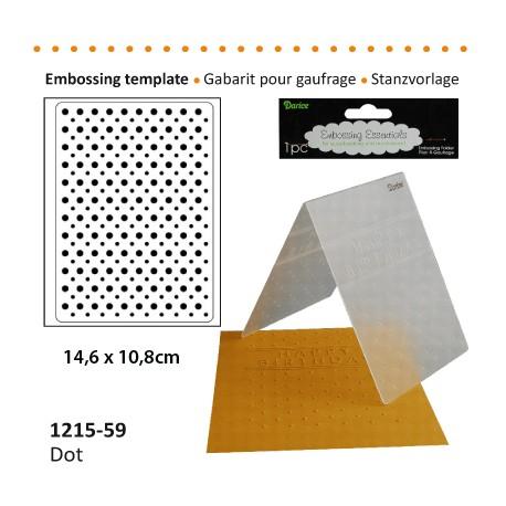 GAB GAUFFRAGE 10.8x14.6cm DOT