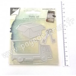 JOY!CRAFTS CUTTING & EMBOSSING DIES HOME SET