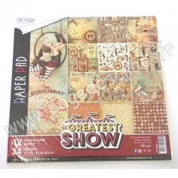 CIAO BELLA THE GREATEST SHOW 12 imprimés R/V 30.5 cm x 30.5 cm 190g